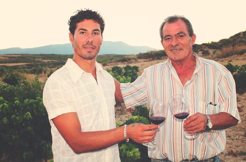 Padre e hijo Bodegas Román